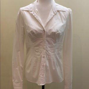 Nwot Bebe classic button up shirt